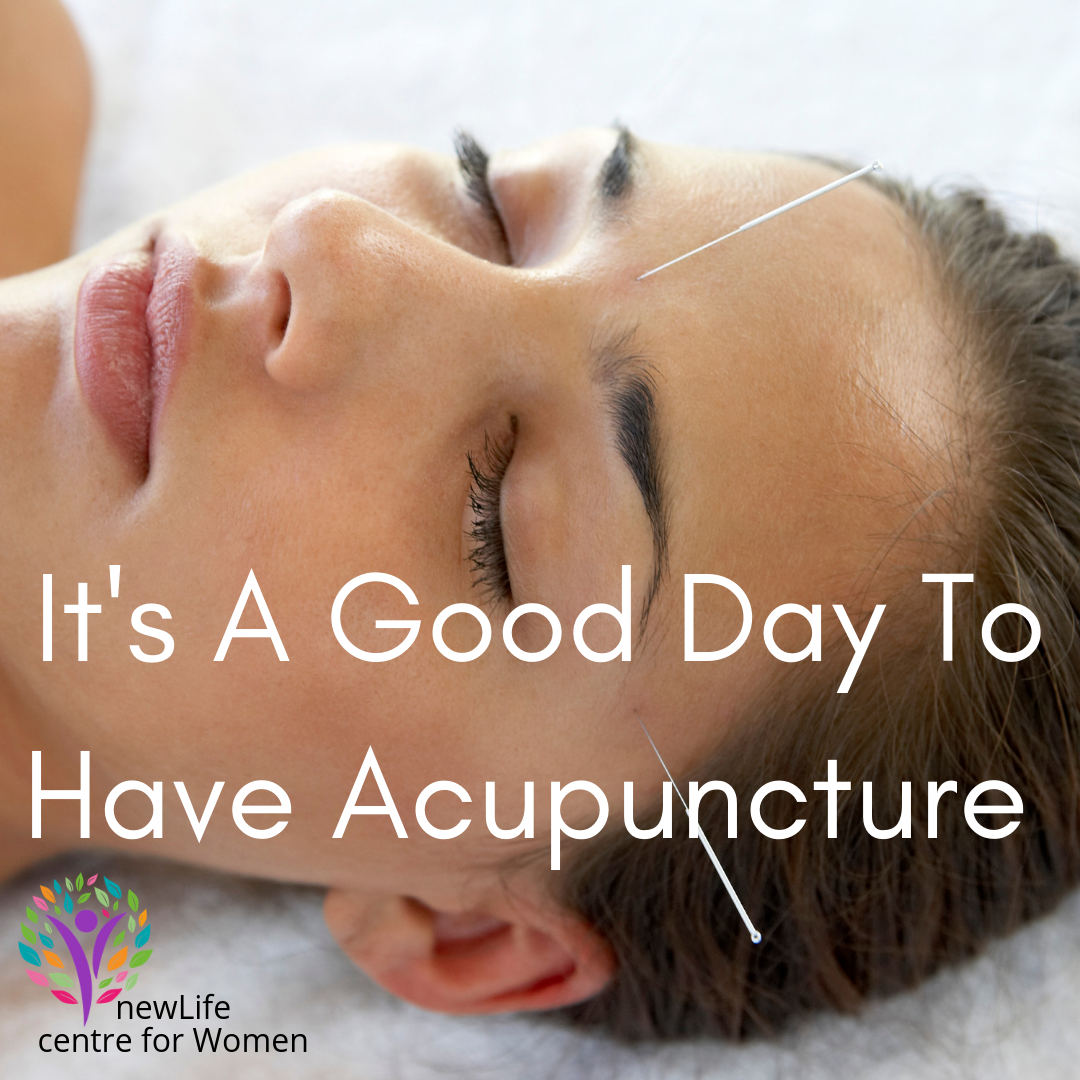 It's a Good Day To Have Acupuncture